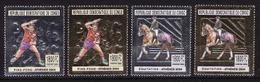 Congo, 2005, Summer Olympics 2004, Foil, 4 Stamps - Ete 2004: Athènes