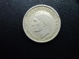 ROYAUME DES SERBES , DES CROATES ET DES SLOVÈNES : 1 DINAR  1925 (b)  KM 5   TB+ - Yougoslavie