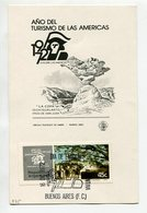 """AÑO DEL TURISMO DE LAS AMERICAS """"LA COPA"""" SAN JUAN TARJETA OBLITERADA DIA DE EMISION 1972 BS.AS. ARGENTINA FDC -LILHU - Vacaciones & Turismo"""