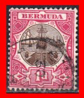 BERMUDA SELLO AÑO 1902-03 - DRY DOCK - Bermudas