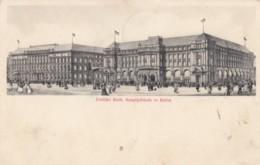 Deutsche Bank Building, Berlin Germany, 1900s View Architecture, 1900s Vintage Postcard - Mitte