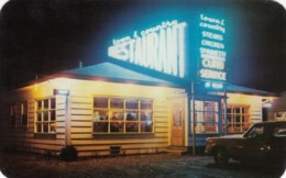 Cataraqui Ontario Canada, Town And Country Restaurant1950s Vintage Postcard - Ontario