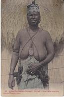 POSTAL DE SENEGAL DE UNE VIEILLE NOURRICE (GAUTRON) DAKAR - Senegal