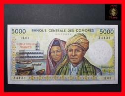 COMOROS 5.000 5000 Francs 1986 P. 12 A  UNC - Comoros