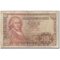 Billet, Espagne, 100 Pesetas, 1948-05-02, KM:137a, B+ - 100 Pesetas