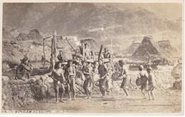 POSTAL DE FILIPINAS DE LA TRIBU DE LOS IGOROT CON SUS DANZAS - Filipinas