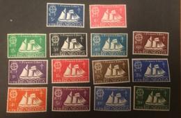 ST. PIERRE  - MH* - 1942 - # 296/309 - St.Pierre & Miquelon