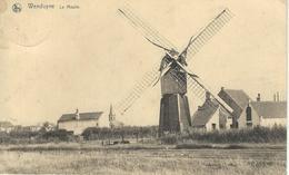 WENDUYNE - WENDUINE : Le Moulin - Cachet De La Poste 1924 - Wenduine