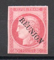 REUNION - YT N° 12 - Neuf * - MH - Cote: 100,00 € - Reunion Island (1852-1975)