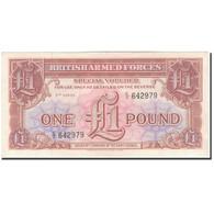 Billet, Grande-Bretagne, 1 Pound, KM:M29, SUP+ - Emissions Militaires