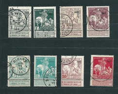 Zegels 92 - 99 Gestempeld - 1910-1911 Caritas