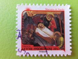 """Timbre France YT 632 AA - Meilleurs Voeux - Nativité - """"Scènes De La Vie Du Christ"""" De Mariotto Di Nardo - 2011 - Adhésifs (autocollants)"""
