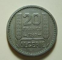 Algeria 20 Francs 1949 - Algérie