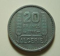 Algeria 20 Francs 1956 - Algérie