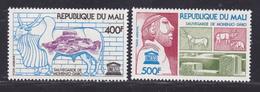 MALI AERIENS N°  283 & 284  ** MNH Neuf Sans Charnière, TB (D8083) UNESCO, Sauvegarde Du Temple De Ohenjo-Daro - 1976 - Mali (1959-...)