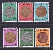 MAROC N°  769 à 774 ** MNH Neufs Sans Charnière, TB (D8084) Anciennes Monaies Marocaines - 1976 - Morocco (1956-...)