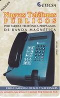 UR-001 TARJETA DE CUBA URMET DE NUEVOS TELEFONOS $3  NUEVA-MINT - Cuba