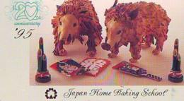 Télécarte Japon * YEAR Of The PIG (己亥) ZODIAC * (695) COCHON * PHONECARD JAPAN * TK * SCHWEIN * PORCO * VARKEN - Zodiaque