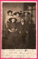 POSTDAM - Cp Photo - Portrait - Femmes Aux Chapeaux - Famille - 1914 - Potsdam