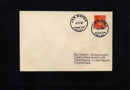 Norway 1960 Jan Mayen Interesting Letter - Stations Scientifiques & Stations Dérivantes Arctiques