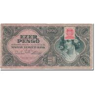 Billet, Hongrie, 1000 Pengö, 1945-07-15, KM:118b, TB+ - Hongrie