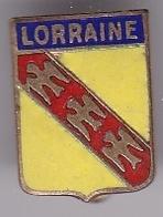 Broche En Laiton émaillé - Lorraine - Pas Un Pin's - Ecusson - Armoiries - Blasons - Héraldique - Ville - Souvenirs