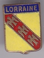 Broche En Laiton émaillé - Lorraine - Pas Un Pin's - Ecusson - Armoiries - Blasons - Héraldique - Ville - Oggetti 'Ricordo Di'