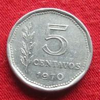 Argentina 5 Centavos 1970 KM# 65  Argentine Argentinie - Argentine