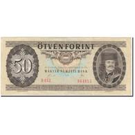 Billet, Hongrie, 50 Forint, 1989-01-10, KM:170h, TTB - Hongrie