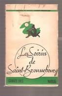 Hugo ROMBAUTS - LES SOIREES DE SAINT-BOUSSEBOURG Troisième Série, Grands Lacs, Namur S.d. Circa 1950 - Livres, BD, Revues