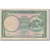 Billet, South Viet Nam, 1 D<ox>ng, KM:1a, TB+ - Vietnam