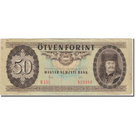 Billet, Hongrie, 50 Forint, 1983-11-10, KM:170f, TB - Hongrie