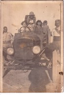 AUTO-AUTOMOBILE-in AFRICA-e Personaggi Scortati Da Guardie Del Luogo-INTEGRA E ORIGINALE 100%an46 - Fotografia