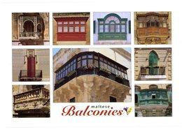 Malta. Maltese Balconies. Maltese Archipelago. Malta's Balconies Are One Of The Island's Most Typical Architectural... - Malte