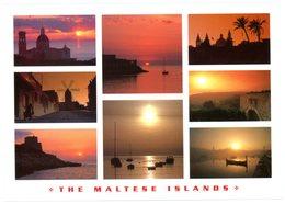 Malta. The Maltese Islands. Les îles Maltaises. Malte. Sunset. Coucher De Soleil. - Malte