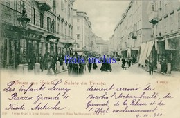 IT - Trieste - Saluto Da Trieste - Corso - 1900 - Trieste