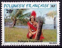 FRANZÖSISCH POLYNESIEN Mi. Nr. 330 O (A-2-5) - French Polynesia