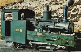 AK Brienz - Lokomotive Der Brienzer-Rothorn Bahn  (38533) - Eisenbahnen