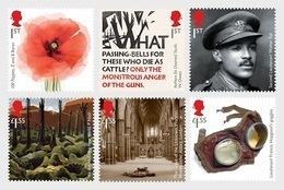 Great Britain 2018 - The First World War 1918 Stamp Set Mnh - Ongebruikt
