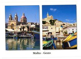 Malta. The Picturesque Port Of Marsaxlokk. Gozo. The Little Port Of Mgarr. Malte. Port Pittoresque De Marsaxlokk. - Malte