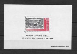 LOTE 1804  ///  (C045) ANDORRA 1982 YVERT Nº: BLOCK 1 **MNH - Nuevos