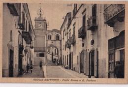 Ascoli Satriano-Foggia-Porta Nuova E R.Pretura-Vg Il 10.11.1911-INTEGRA E ORIGINALE 100%an46 - Foggia