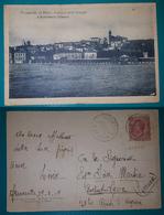 Cartolina Francavilla Al Mare (Chieti) - Panorama Della Spiaggia E Stabilimento Balneare. Viaggiata 1919 - Chieti