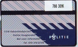 Telefoonkaart  LANDIS&GYR  NEDERLAND * RCZ.766   301K * POLITIE * POLICE  * TK * ONGEBRUIKT * MINT - Privé