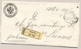 Österreich / Galicia - 1900 - Complete Folded R-cover From WINNIKI To Lwow / Lemberg - 1850-1918 Keizerrijk