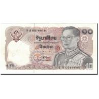 Billet, Thaïlande, 10 Baht, KM:87, TTB+ - Thaïlande