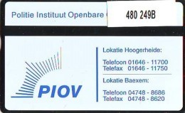 Telefoonkaart  LANDIS&GYR NEDERLAND * RCZ.480   249b *  POLITIE * POLICE * PIOV  * TK * ONGEBRUIKT * MINT - Nederland
