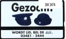 Telefoonkaart  LANDIS&GYR  NEDERLAND * RCZ.295  247a * A.C.P. POLITIE BOND * POLICE * TK * ONGEBRUIKT * MINT - Privé