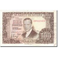 Billet, Espagne, 100 Pesetas, 1953, 1953-04-07, KM:145a, SUP - [ 3] 1936-1975 : Régence De Franco