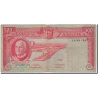 Billet, Angola, 500 Escudos, 1962-06-10, KM:95, B+ - Angola